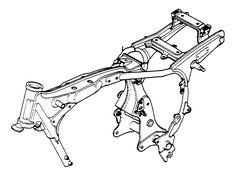 Honda-CB400T-CM400T-frame