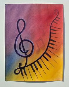 Music canvas art