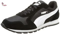 Puma ST Runner NL - Chaussures d'Entrainement - Mixte Adulte - Noir (Black/White 07) - 36 EU (3.5 UK) - Chaussures puma (*Partner-Link)