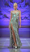 Lourdes Atencio défilé couture NYC #lasemainedelamode #robe #femme #automnehiver2013 #mode #lourdesatencio