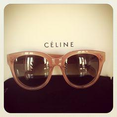 Celine, classic Audrey sunglasses.