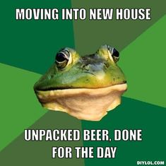 If you find yourself feeling tired, stressed or sad about moving, it can help take a minute to laugh, because moving is definitely not the end of the world. #piecebypeace #moving #austin