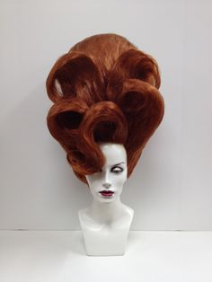 Va Va Va Voom Wig #wigs #outfitterswig #redhead
