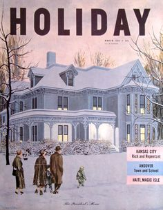1950 Harry Truman House Independence Misssouri Holiday