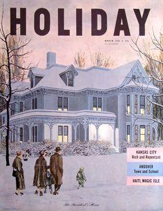 Beautiful House Magazine april, 1932 house beautiful magazine cover - spring decorating - t