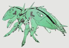 "The MAN-010 G-3 (""Ge Drei"") is a transformable mobile armor that appeared in the manga series Mobile Suit Gundam: The Revival of Zeon."