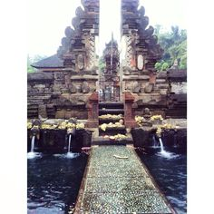 Templo de la burbuja. Bali, Indonesia.