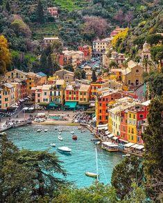 In Portofino, Italy.