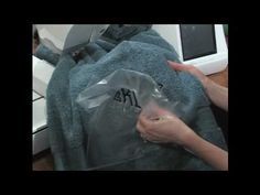 Kate Bashynski, embroidery specialist for Nancy's Notions, explains the steps to successfully embroider a towel with your embroidery machine. Problems can ar. Sewing Machine Embroidery, Embroidery Tools, Embroidery Shop, Embroidery Monogram, Embroidery Techniques, Sewing Techniques, Machine Applique, Monogram Towels, Personalized Towels