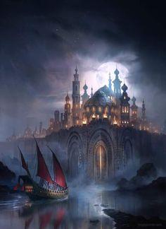 Arabian Nights, fantasy style