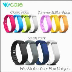 Amazon.com: WoCase Fitbit Accessory Wristband Bracelet Pack ...