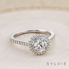Say Yes with our sparkling styles that are perfect for your Valentine's Day proposal! We're loving this bezel set engagement ring are you? (Style shown: Popular Engagement Rings, Round Diamond Engagement Rings, Three Stone Engagement Rings, Designer Engagement Rings, Halo Engagement, Vintage Engagement Rings, Vintage Rings, Or Rose, Just In Case