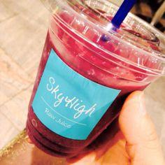 伊勢丹なうw skyhighのスムージー大好き♡ めずらしく甘いフルーツのにしてみた!