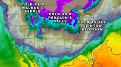 10. 2013-14 American Winter Weather Map