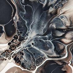 Organic looking paintings from London based multimedia artist and art director Samuel Burgess-Johnson.