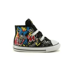 Shop for Toddler Converse All Star Hi Batman Athletic Shoe in BlackBatman at Journeys Kidz. Shop today for the hottest brands in mens shoes and womens shoes at JourneysKidz.com.Holy Chuck Taylor Batman! Your Caped Crusader will always be in the spotlight while wearing this Classic Converse Hi Top for the for the youngest of Super Heros. This Chuck Taylor hi top features a canvas upper with awesome Batman graphics that will surely add fun to your toddlers busy bat day. Available exclusively…
