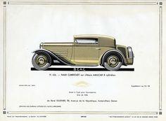 Amilcar Faux Cabriolet, c. 1931