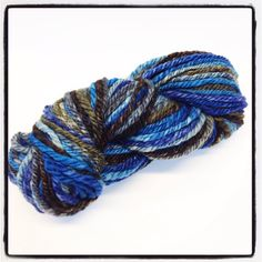 Handspun wool blend makes a lovely fabric knit or woven by Jackpie