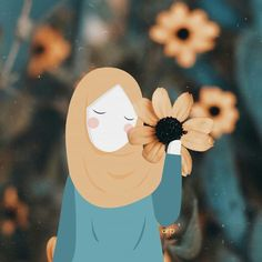 Wallpaper Anime Girl Posts 35 New Ideas Cute Wallpapers, Wallpaper Backgrounds, Iphone Wallpaper, Best Facebook Profile Picture, Deviantart Drawings, Hijab Drawing, Islamic Cartoon, Anime Muslim, Hijab Cartoon