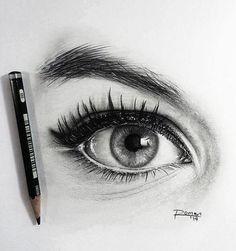 Olho art images, art drawings, amazing drawings, art sketches, pencil d Amazing Drawings, Love Drawings, Drawing Sketches, Amazing Art, Art Drawings, Sketching, Realistic Eye Drawing, Drawing Eyes, Painting & Drawing