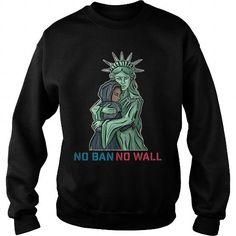 Cool Resist Trump Stop Deportation No Ban No Wall Muslim Refugees Immigrants Ban nobannowall Shirts & Tees