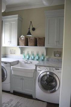 laundry room colour idea