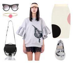 Ioana Ciolacu Daisy Grey Sweatshirt  tinyurl.com/jzm7b7y