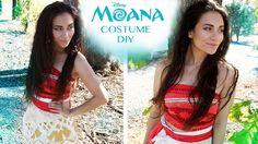 Disney\'s Moana Costume Tutorial DIY & No Sew