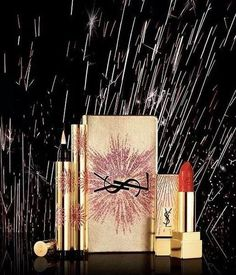YSL Dazzling Lights Makeup Collection Christmas Holiday 2017