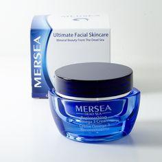 Dead Sea Replenishing Omega-3 Cream Dead Sea, Facial Skin Care, Vaseline, Collagen, Natural Beauty, Omega 3, Cream, Creme Caramel, Petroleum Jelly