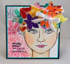#cre8time for flowers - Stamping & Scrapping in California: #Stampendous #Dreamweaver Blog Hop