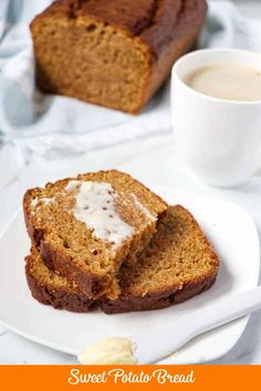 Want to prepare a different type of bread, try this sweet potato bread. You'll be astonished how tender and moist this sweet potato bread is, with warm spices and a delicious flavor. A perfect accompaniment to your morning coffee, afternoon hot apple cider, or evening glass of wine. It is so versatile - it can even be served as dessert.