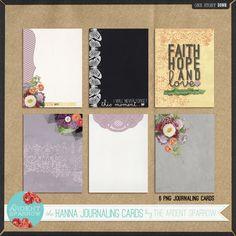 Journaling card freebie