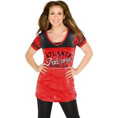 Atlanta Falcons Women's Teamwork Pullover Hoodie - Red