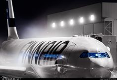 Finnair A330-302 OH-LTN (CN: 1007) 16 December 2014 Helsinki Vantaa  De-Icing!   by Roni Kokko