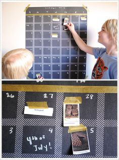 Summer calendar for kids to visualize....and pinterest jars. Put in pics of pinterest pins, to make, to go, to eat. Pick in the jar, choose the day to do the pin you picked, stick it to calendar.