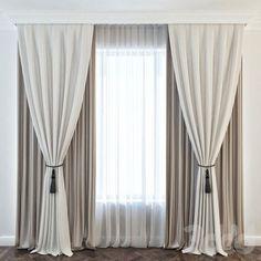 44 Modern Home Curtain Design Ideas