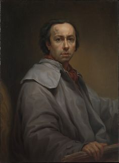 Anton Raphael Mengs (German, 1728–1779). Self-Portrait, 1776. The Metropolitan Museum of Art, New York. Harris Brisbane Dick Fund, 2010 (2010.445) | Whereas Mengs's portraits of prominent sitters are notable for their delicacy, meticulous detail, and refined beauty, his self-portraits are essays in truthfulness.