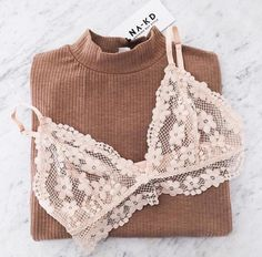Underwear: floral bralette lace bralette ribbed bra white flowers lace lace bra sweater brown https://bellanblue.com
