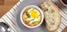 Simple, lovely, and delicious! Have you ever tried making Italian baked eggs? Oftentimes, we want breakfast that is a little extra special, a breakfast that tastes ULTRA delicious. Breakfast Dishes, Breakfast Time, Breakfast Recipes, Breakfast Ideas, Free Breakfast, Breakfast Casserole, Brunch Recipes, Italian Baked Eggs Recipe, Italian Recipes