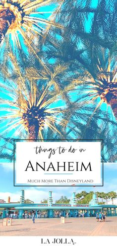 The best things to do in Anaheim, California include Disneyland but so much more from breweries to baseball games to beach or island day trips. La Jolla Mom Anaheim California, California Travel, Stuff To Do, Things To Do, Fun Activities To Do, Disney California Adventure, Downtown Disney, Baseball Games, Disneyland Resort