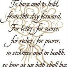 Marriage Vows Covenant TilDeathdousPart 1man1woman Husbandandwife Wedding