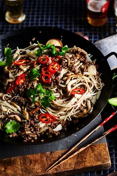 You won't be able to resist a second serve of this fragrant beef and mushroom stir-fry from The Australian Women's Weekly's 'The Butcher' cookbook. Weekly Recipes, Cookbook Recipes, Rice Recipes, Asian Recipes, Ethnic Recipes, Kfc Chicken Recipe, Chicken Recipes, Healthy Meals, Healthy Food
