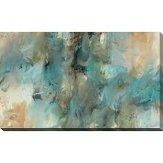 This abstract canvas art is the perfect addition to any contemporary space. It is fully finished, arriving ready to hang on the wall of your choice.