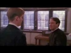 wonderful - from dead poet's society, on the poet in each of us. Barbaric Yawp - YouTube