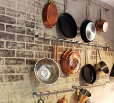 Grundtal bars as pot rack