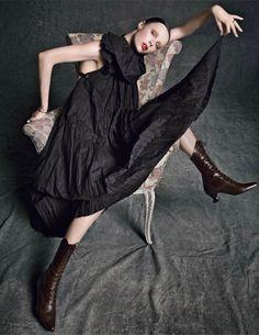 Edie Campbell by Inez van Lamsweerde & Vinoodh Matadin for Vogue Paris March 2014 8