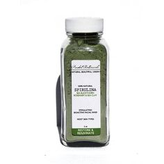 Spirulina Sea Facial   Mask  Blue Green Algae by PeridotBotanicals, $15.00