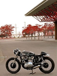 """combustible-contraptions: """" Triton Cafe Racer """""""