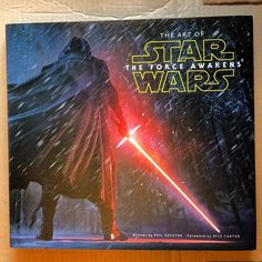 After seeing the #ArtofStarWars #panel @starwarscelebration had to get the #book... #theartoftheforceawakens…